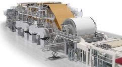 На фабрике в Пензе запущена новая бумагоделательная машина